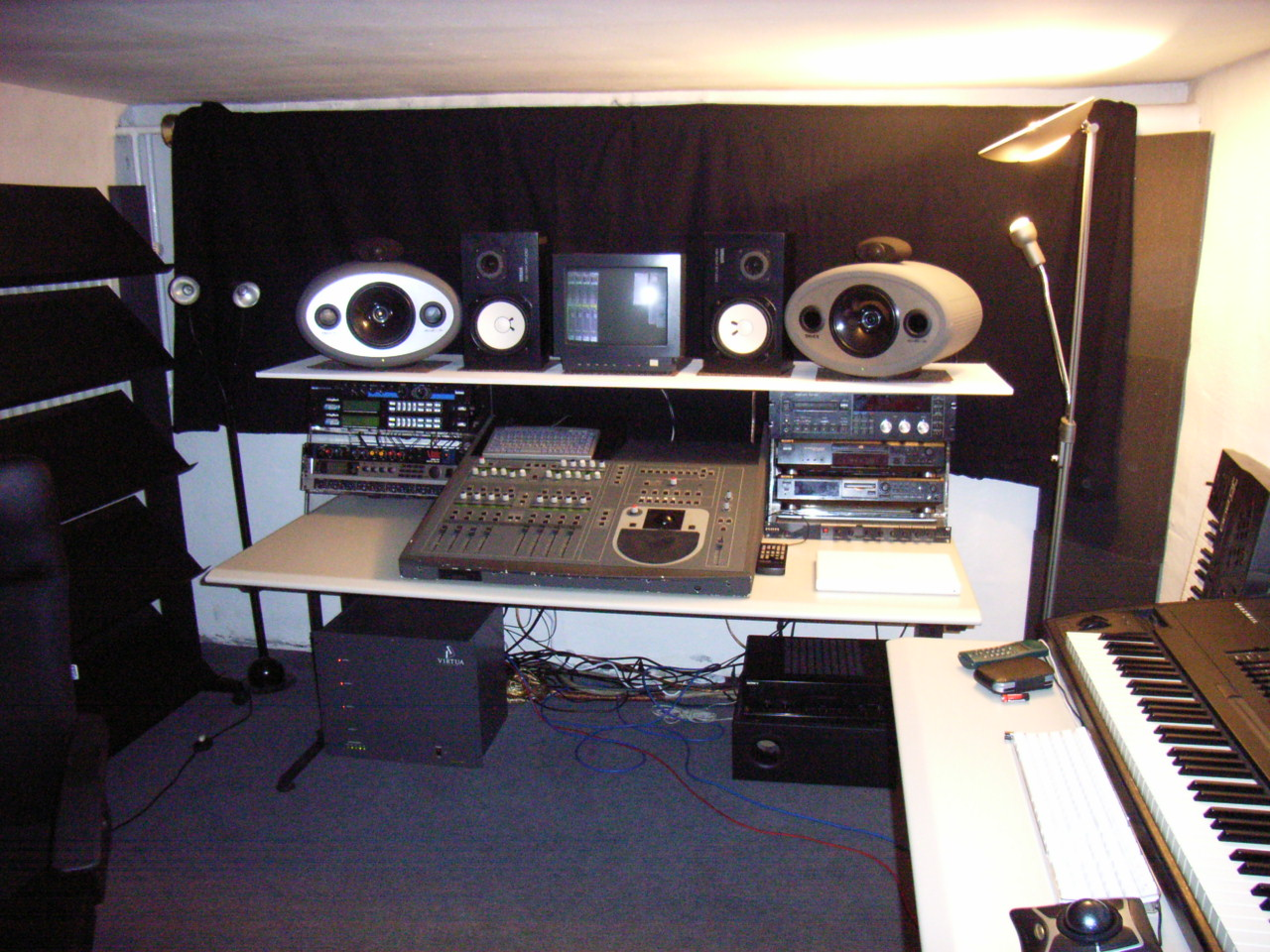 for Music recording studio layout